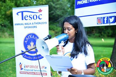 Tesoc Annual Walk a Thon  Sep 22 2019