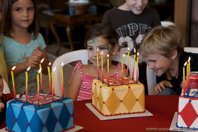 Tesseract - group birthday - Rylan, Caleb, Sophia P, Sophia R.L.