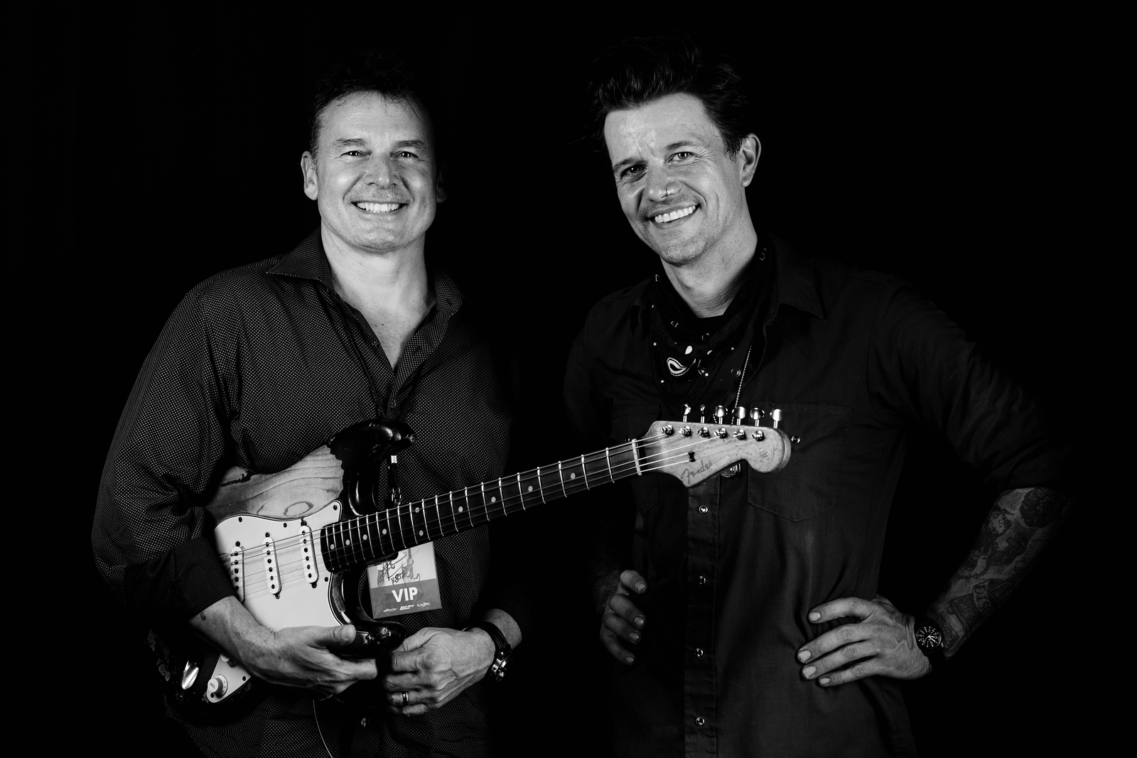 Dirk Leuenberger and  Eric Tessmer