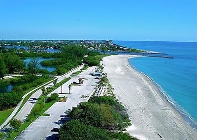 on the BEACH...where we live...