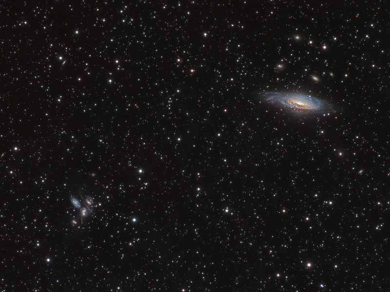 NGC 7331 & Stephan's Quintet