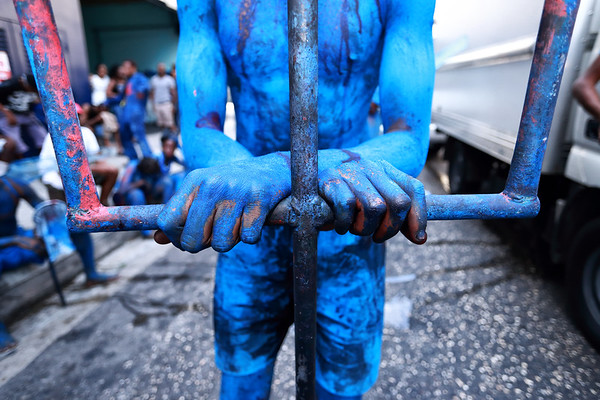 The Blue Devil and The Pitchfork