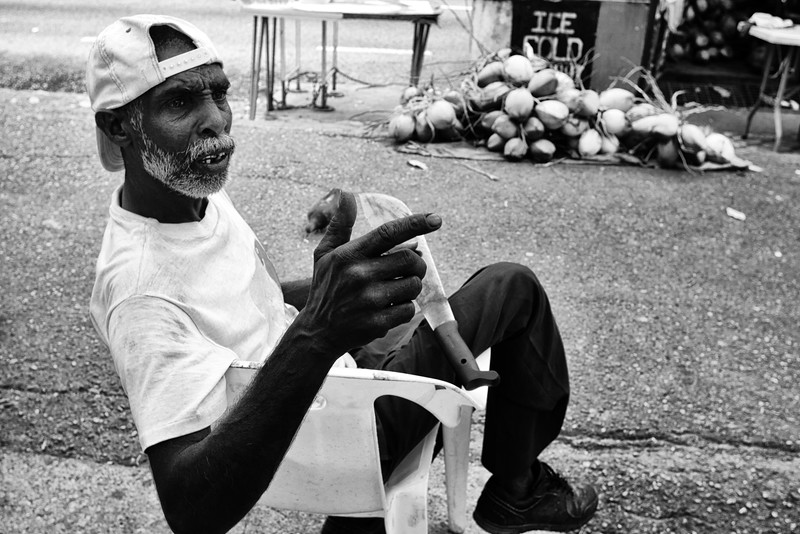 Roop Sammy, Coconut Vendor