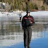 Walking on water at Capel Lake
