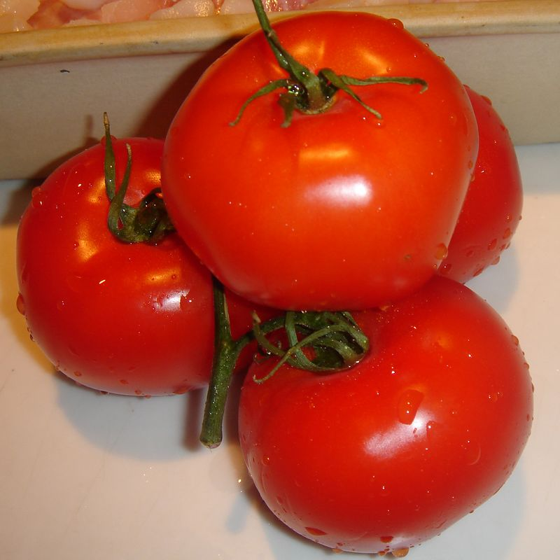 Fresh tomatoes add zest and color to any dish.