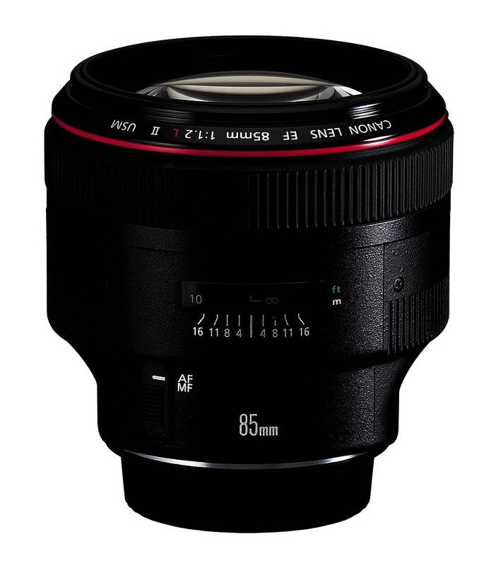 Canon 85mm f1 2 II lens