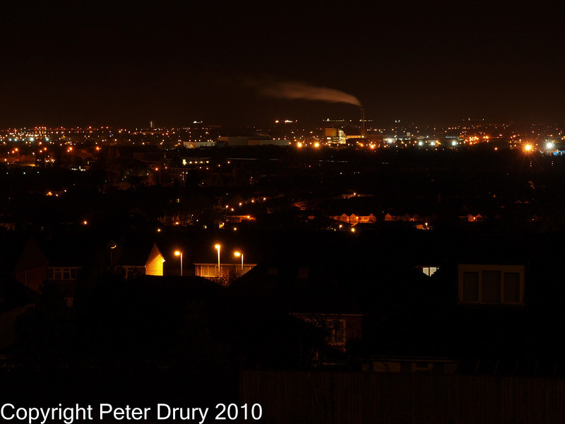 14 Oct 2010 - E5 Night Shoot. Copyright Peter Drury 2010<br /> Scene 1