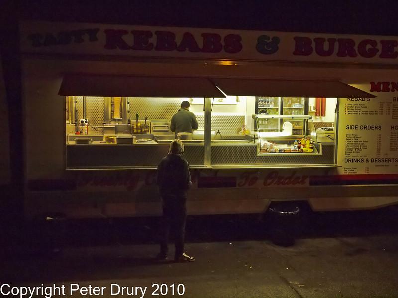 01 Dec 2010 - E5 Night shoot test comparisons. Copyright Peter Drury 2010. Part of E5 Tests<br /> E5 + Zuiko Digital 12-60mm, Aperture Priority, ISO 3200, f7.1, 1/30s