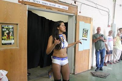 Center Ring Divas Championship Center Ring Divas Champion Tequila Rose vs. Delmi Exo with Ashley Vox
