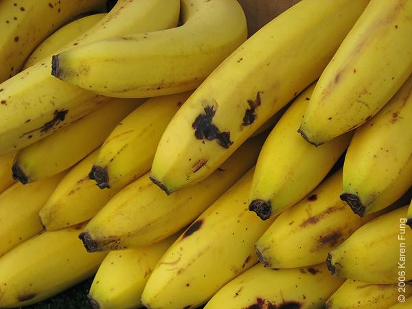 Nature morte avec bananes