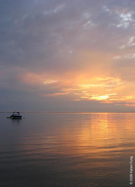 Dawn on Napeague Bay