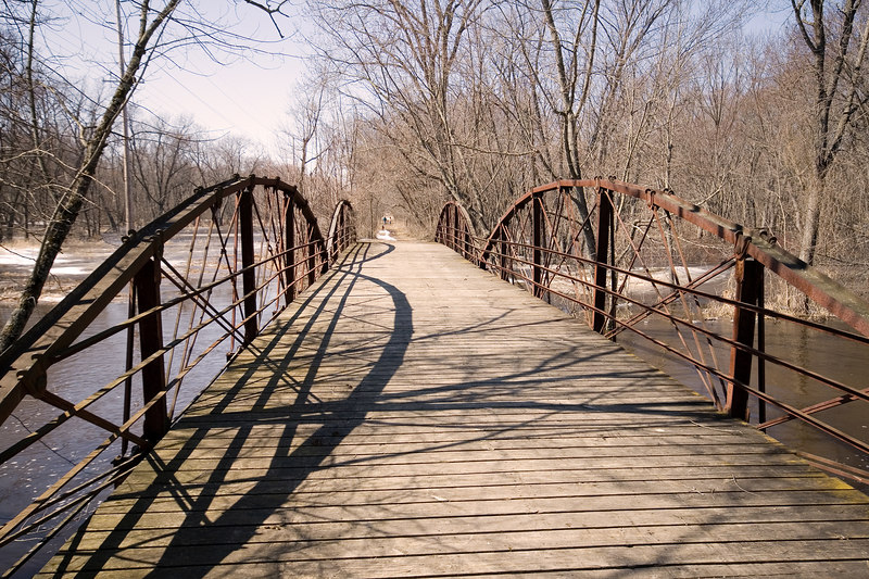 Van Loon Wildlife Area Truss Bridge #1