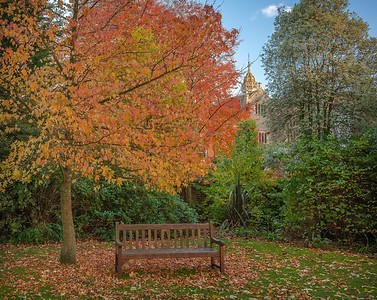 Romsey Abbey grounds