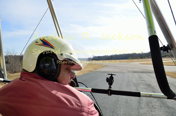Light sport aircraft flights