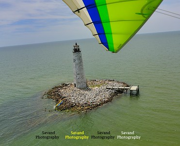 5-10-12 Flying with John - Blackstone-Farmville-Tappahannock-Wolf trap Lighthouse