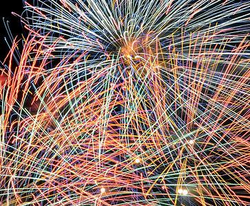 Busch Gardens- Fireworks