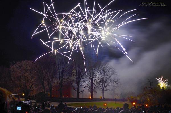 Grand Illuminations- Williamsburg 2011