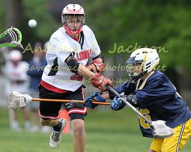 5-5-14 Lacrosse- MS Boys - Steward @ Walsingham