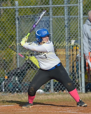3-23-15 Softball WCA- Broadwater