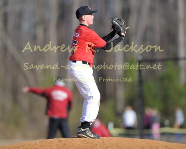 3-24-14 Baseball- Walsingham  M.S. @ WCA JJV