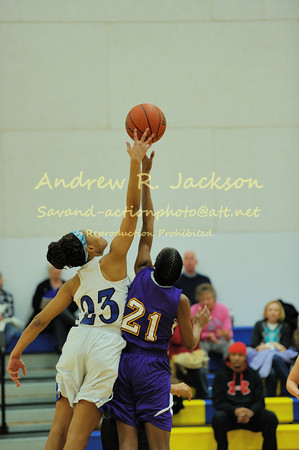 2-4-13 BBall- Girls WCA - Norfolk Christian