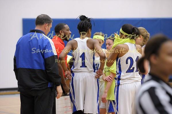 1-10-15 Basketball Girls - WCA vs STAB