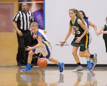 1-10-15 Basketball- JJV Girls - WCA vs Broadwater