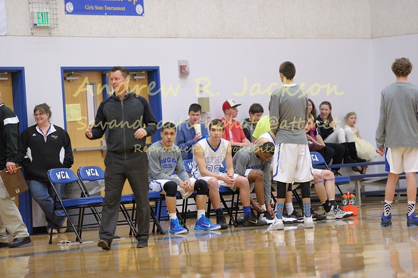 1-24-15 Basketball - WCA- Christ Chapel boys