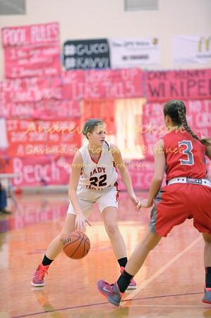 1-27-15 Basketball Girls- Walsingham- Cape Henry