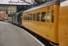 37611 and test coach 977868 <br /> <br /> pull out of Lime St plat 8 heading for Preston