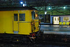 cab shot of 73138 and a Merseyrail unit on plat 3 waiting to depart for Hunts Cross