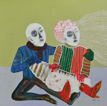 Painting by Rashwan Abdelbaki
