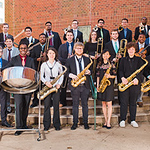 Mason Jazz Ensemble, spring 2018 (taken by Suzette Niess).