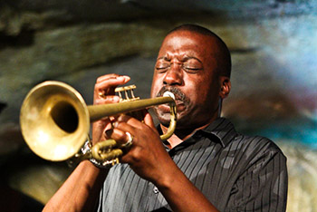 Blow, Kenny, blow!: Rittenhouse on trumpet