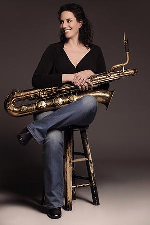 Leigh Pilzer - Baritone saxophonist, CVPA