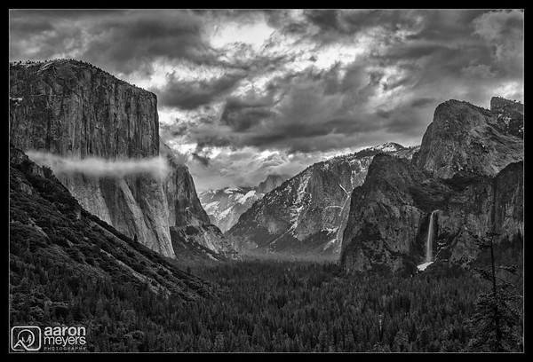 Cloudy Yosemite