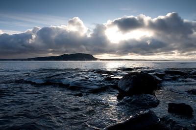 Caribou Island from Lambert