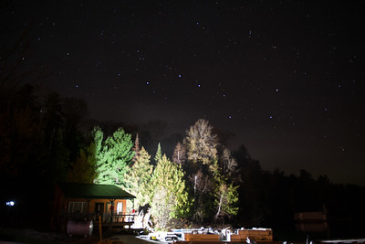 The Big Dipper over Hideaway Lodge Emo