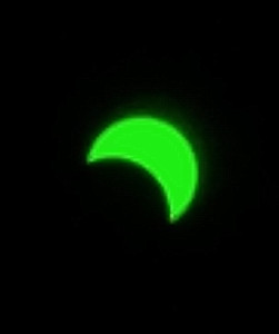 The solar eclipse of August 2017.  Cell phone and welders glass.