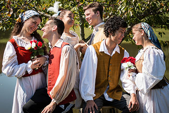 The Gondoliers, Mason School of Theater, October 2017