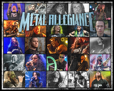 Metal Allegiance debut album artist list (CD inlay) 2015