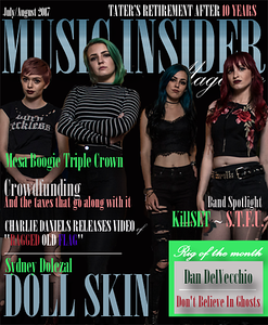 Doll Skin Music Insider Cover 2017