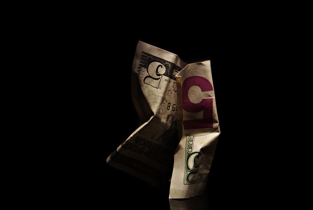 folded currency