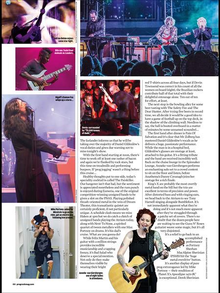 Team Rock PROG magazine Progressive Nation at Sea article 2014