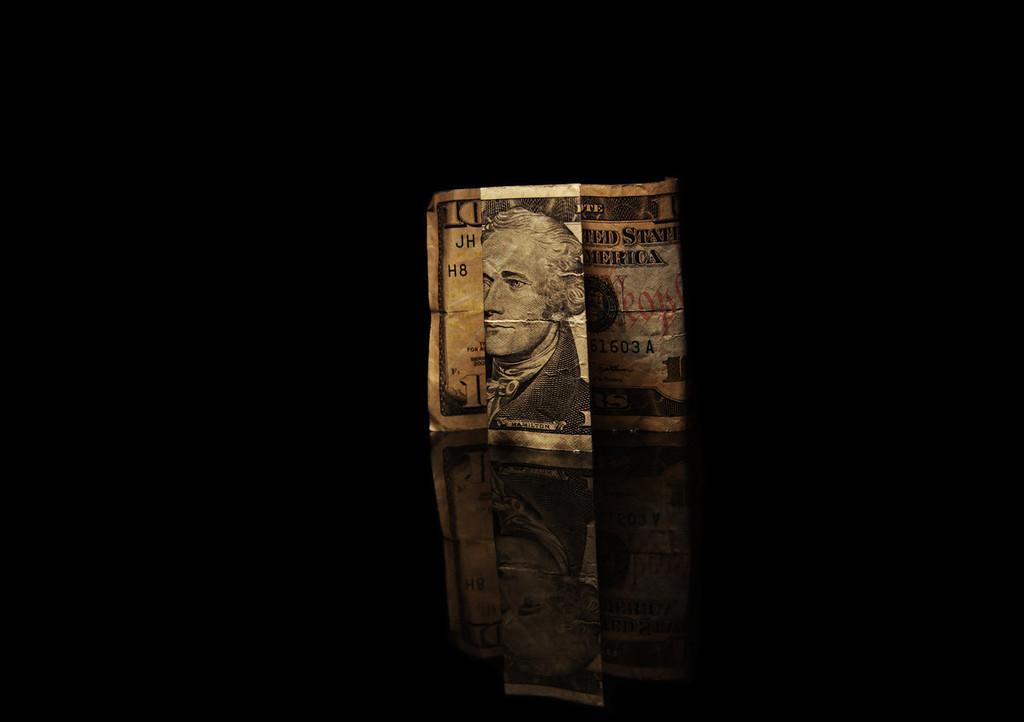 folded reflection