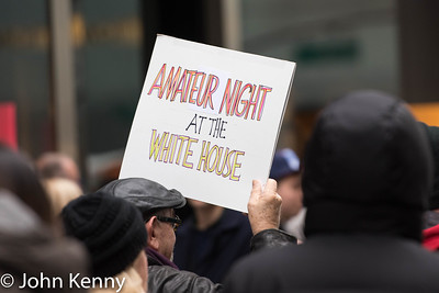 Trump Tower Protest 1/20/17