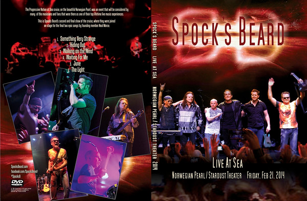 Spock's Beard Live At Sea DVD (Back)