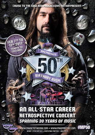 Mike Portnoy 50th Birthday Bash Tour Poster