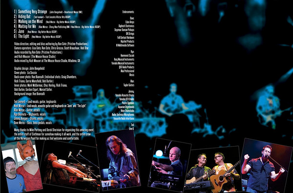 Spock's Beard Live At Sea DVD 2014 (Inside)