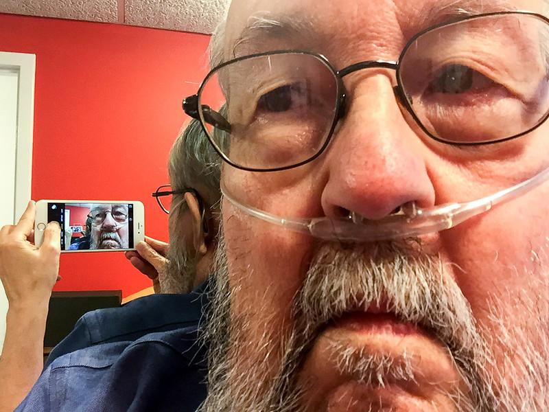 Selfie of Myself Taking a Selfie of Myself